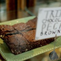 Triple Chocolate Pecan Brownies